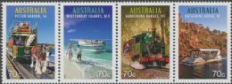 AUS SG4328a Tourist Transport strip of 4